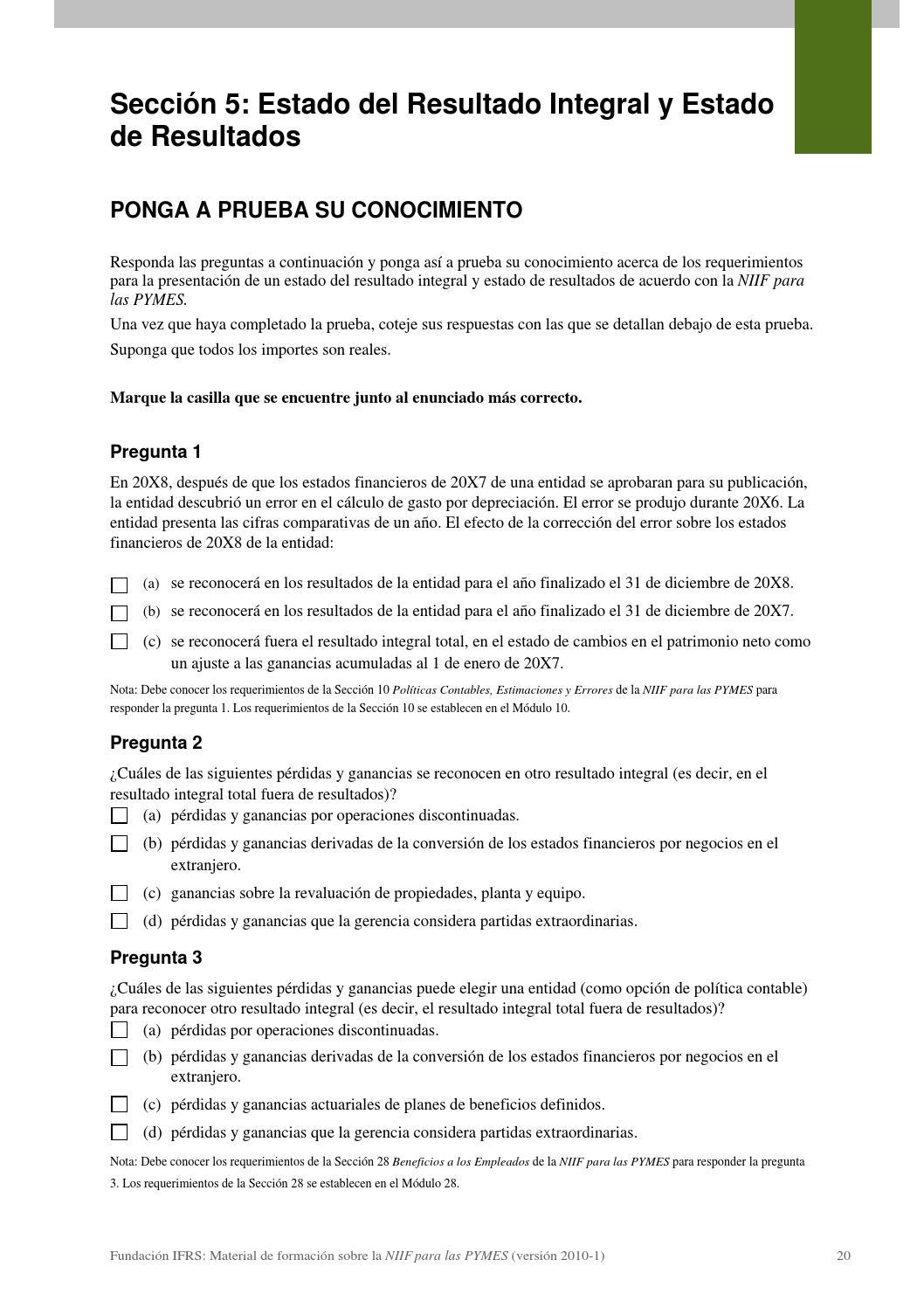 Modulo 05 Estado Del Resultado Integral Y Estado De Resultados By Edu Gonzalez Palomino Issuu