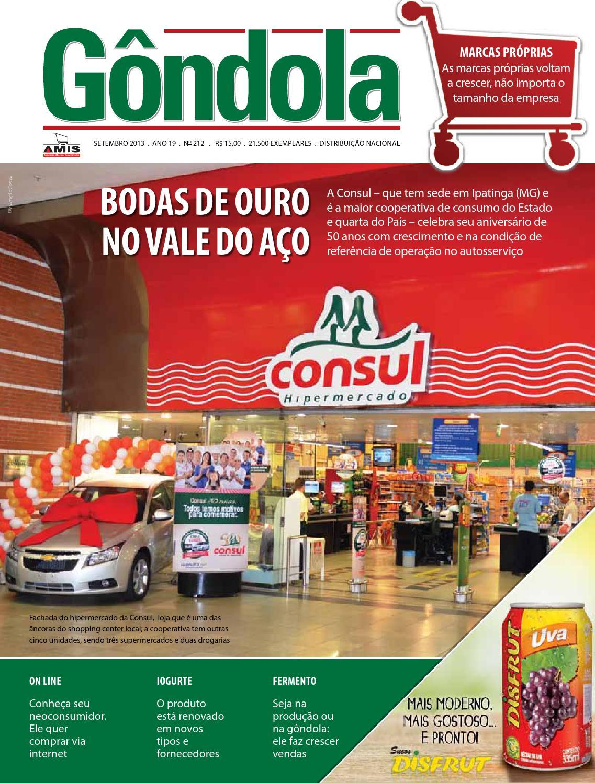 Revista Gôndola Edição 212 by AMIS Associação Mineira de Supermercados -  issuu 9420140e7f