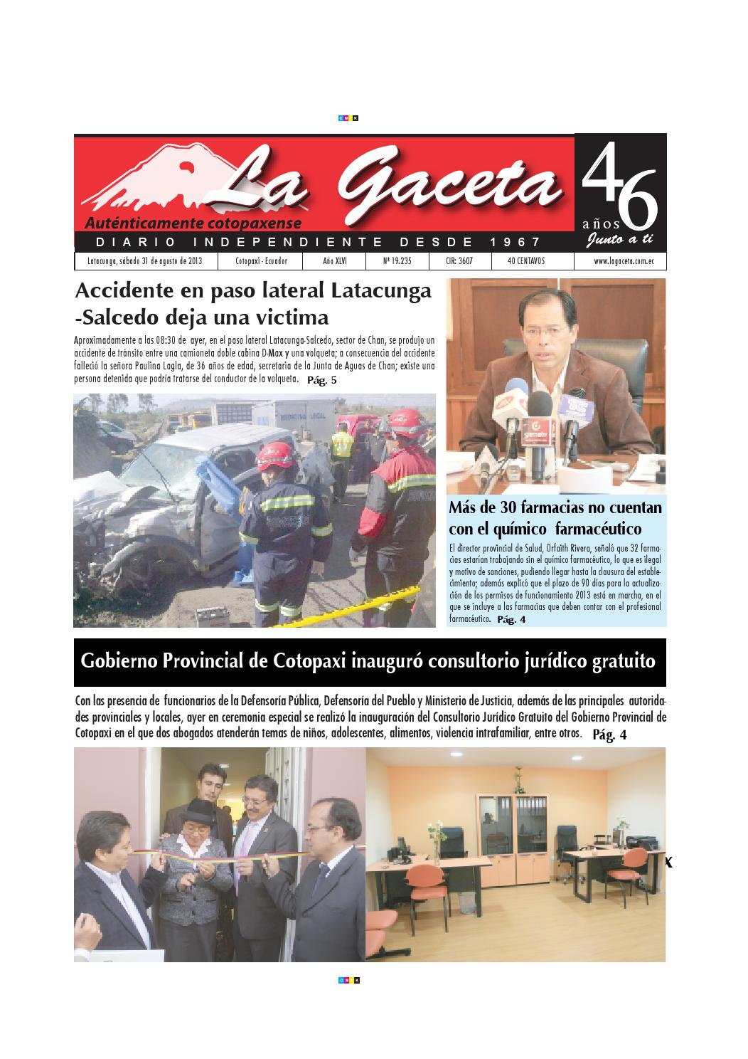 La Gaceta 31 agosto 2013 by Diario La Gaceta - issuu