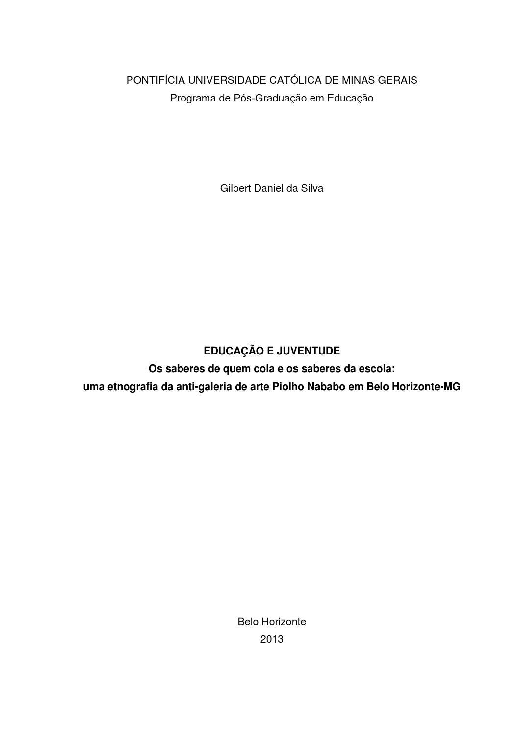 642570f6ffc Lambe-Lambe  etnografia da anti-galeria de arte do Piolho Nababo em Belo  Horizonte-MG by Gilbert Daniel - issuu