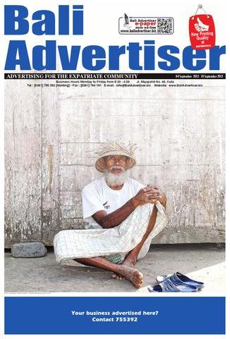 c75a0f3034 BA 04 September 2013 by Bali Advertiser - issuu