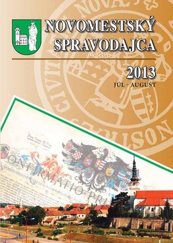 Novomestský spravodajca 07-08-2013 by Pavol Moravec - issuu 7f5724f9066