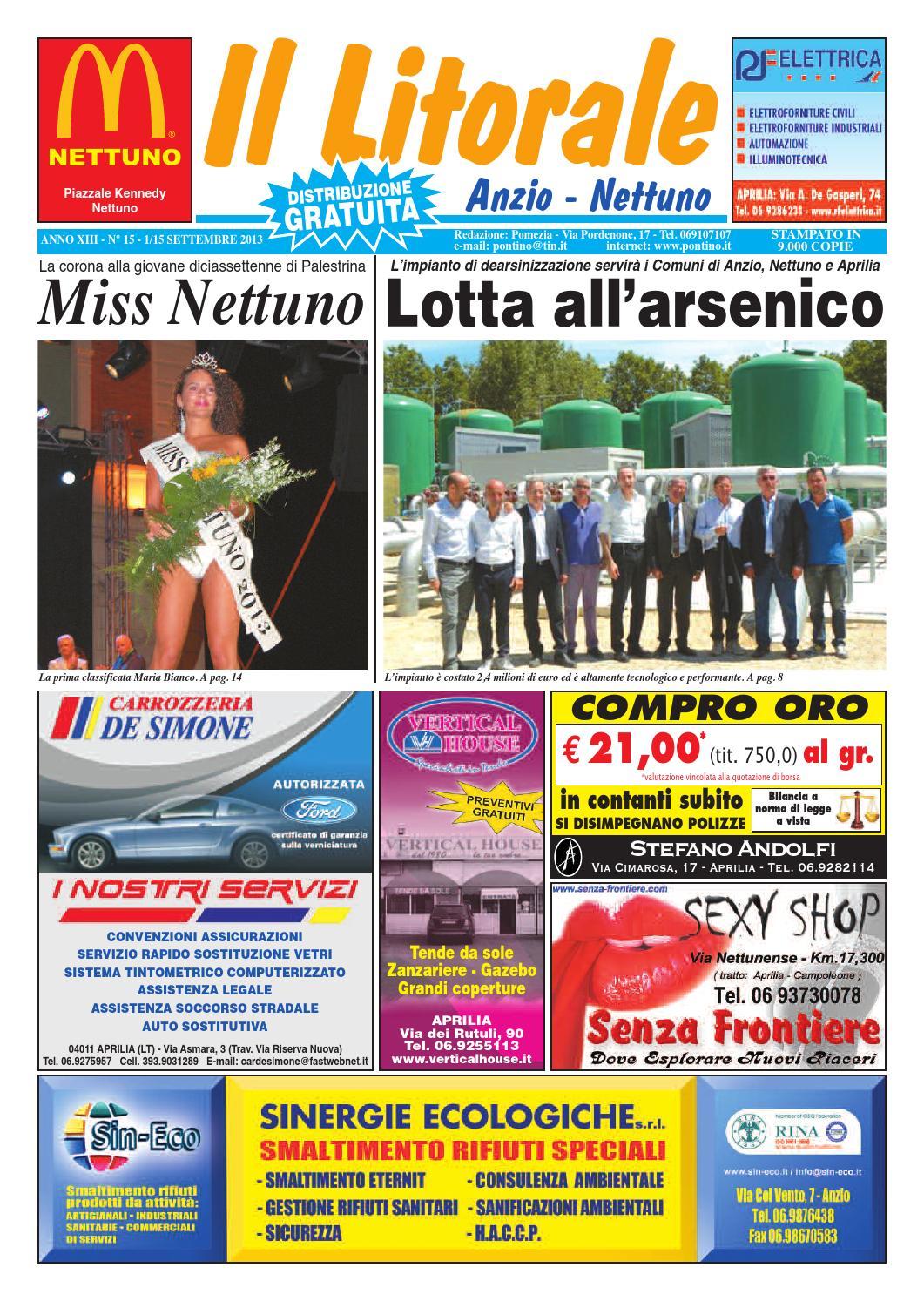 timeless design 99f20 44937 Il litorale n. 15-2013 by Il Pontino Nuovo, Aprilia - Il Litorale 2013 -  issuu