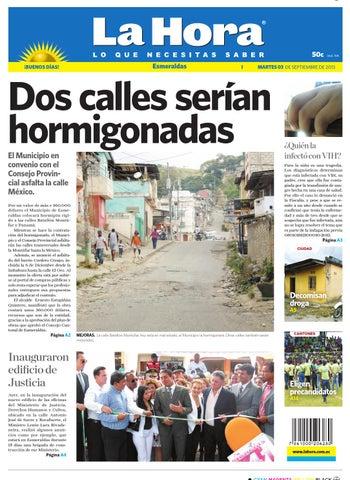 La Hora Esmeraldas 3 de septiembre de 2013 by Diario La Hora Ecuador ... b8986eee4a5