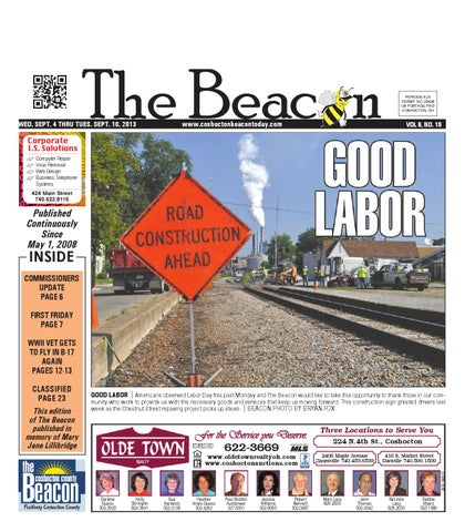 September 12 2012 Coshocton County Beacon By The