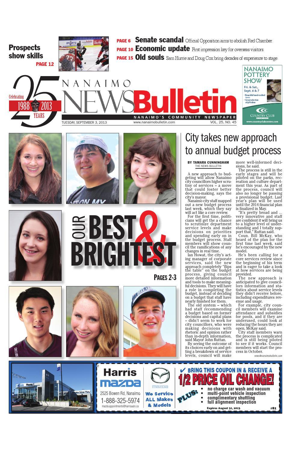 Nanaimo News Bulletin, September 03, 2013 by Black Press Media Group - issuu