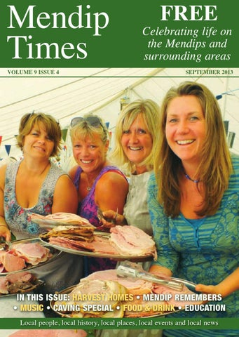 Mendip Times Front Cover DesignsLayout 1 VOLUME 9 ISSUE 4