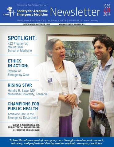 SAEM September-October 2013 Newsletter by Society for