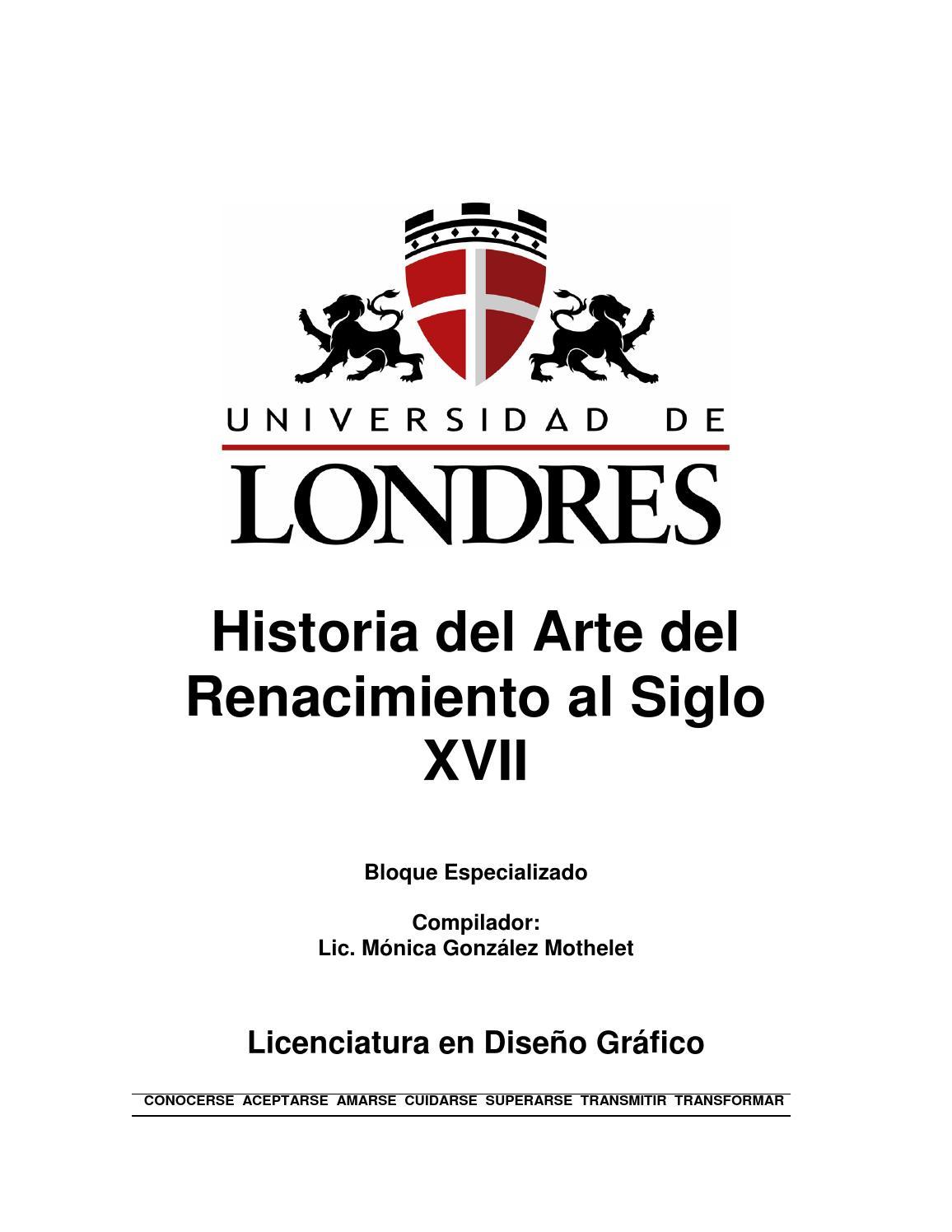 Diseño historia renacimiento xvii by Lonnie Matlock - issuu