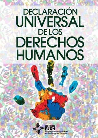 Declaracion Universal de los Derechos Humanos by Editorial