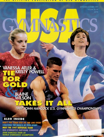 Usa Gymnastics Septemberoctober 1997 By Usa Gymnastics Issuu