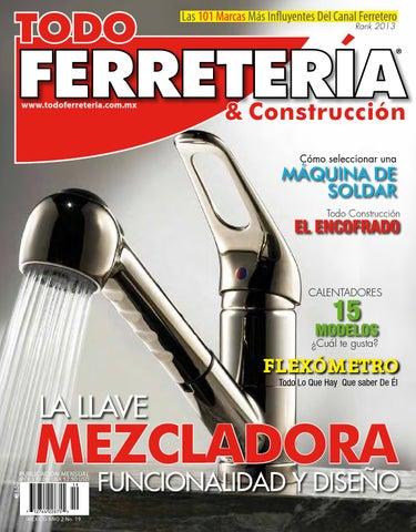 37ef6ae392b70 EDIC. 19 LA LLAVE MEZCLADORA by TODO FERRETERÍA - issuu