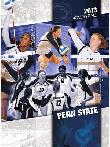 1f1d34a54c20d 2013 Penn State Women s Volleyball Yearbook by Penn State Athletics ...