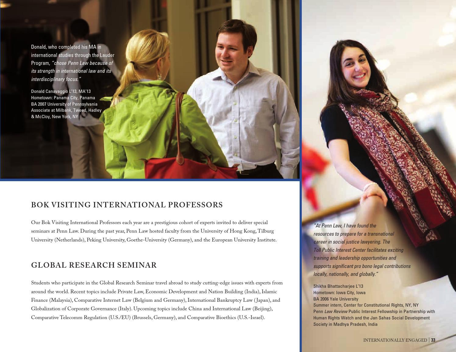 Jd Viewbook 2013 By Penn Law Issuu