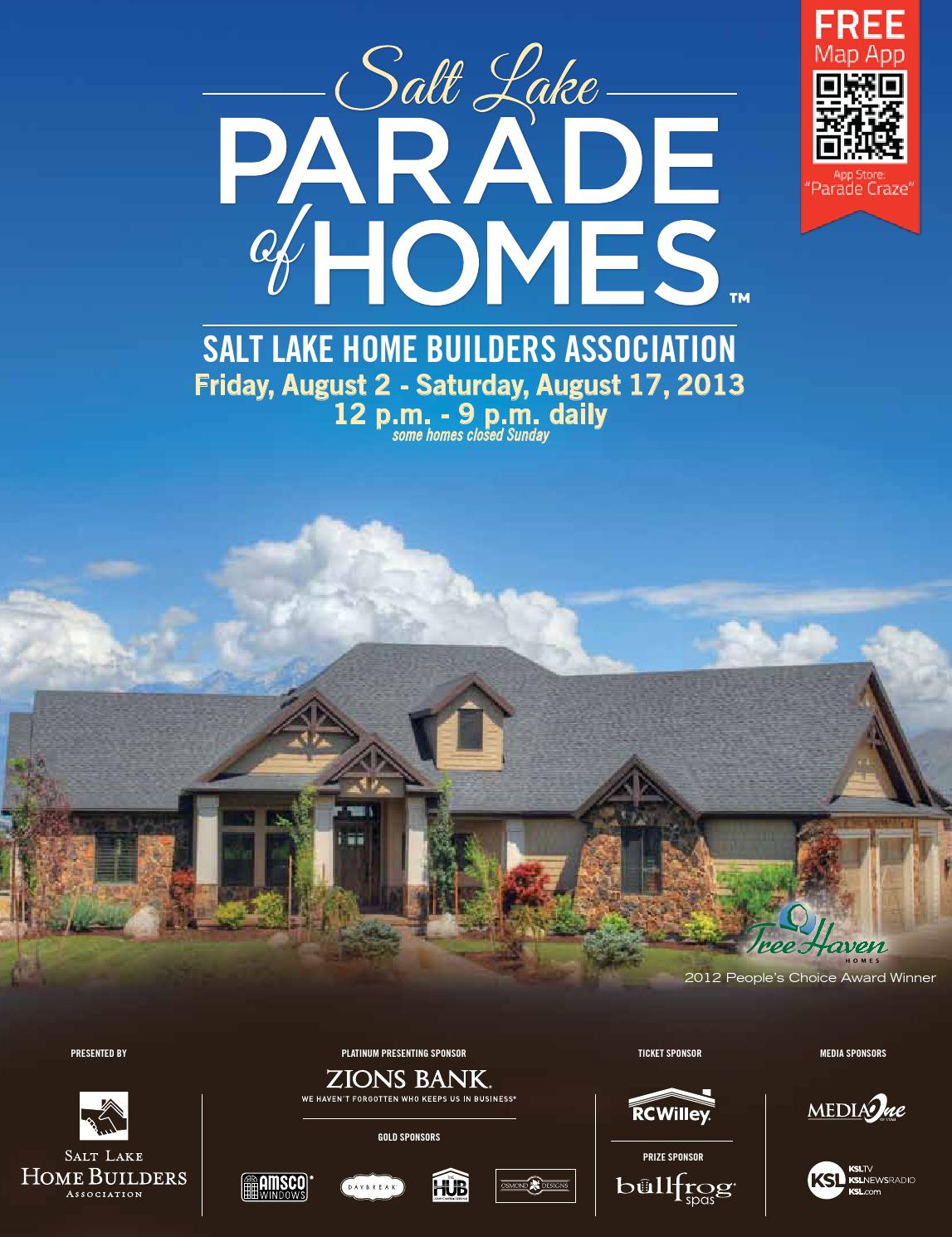 2013 Salt Lake Parade of Homes by Salt Lake Parade of Homes - issuu