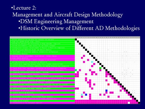 Page 11 of Management & Aircraft Design Methodology