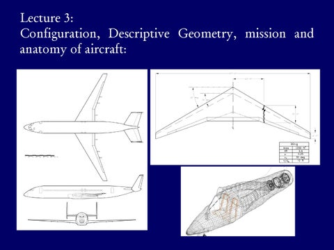 Page 12 of Configuration, Descriptive Geometry, Mission & Anatomy of Aircraft