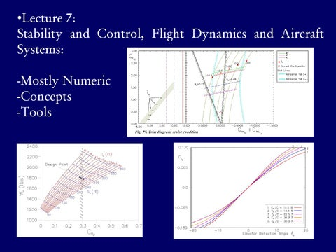 Page 18 of Stability & Control, Flight Dynamics & Aircraft Systems