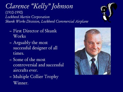 """Page 10 of Clarence """"Kelly"""" Johnson"""
