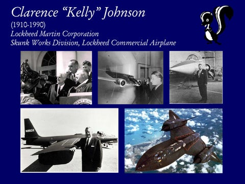 """Page 11 of Clarence """"Kelly"""" Johnson"""