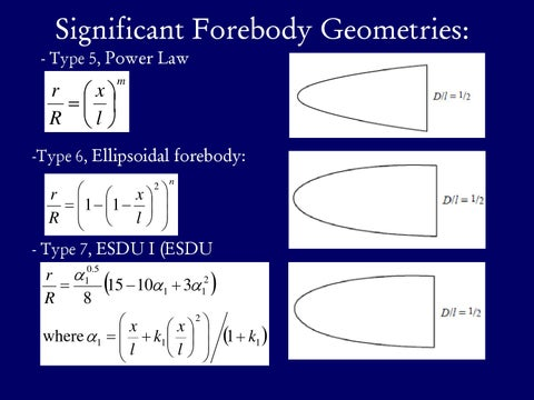 Page 11 of Significant Forebody Geometries