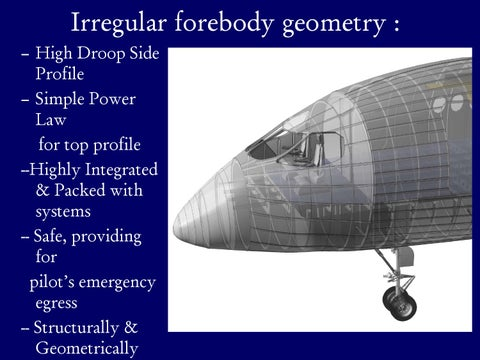 Page 13 of Irregular Forebody Geometry