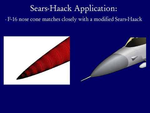 Page 20 of Application of Sears-Haack Geometry