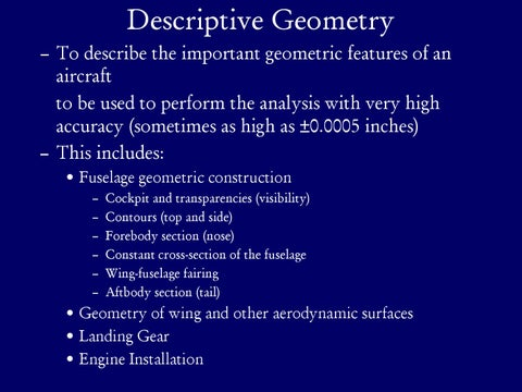 Page 4 of Descriptive Geometry