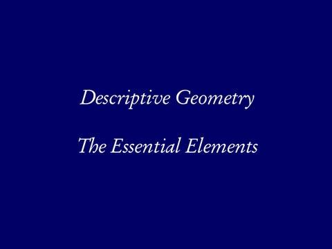 Page 8 of Descriptive Gemetry, The Essential Elements