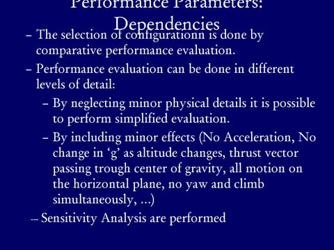Page 13 of Performance Parameters Inter-Dependency