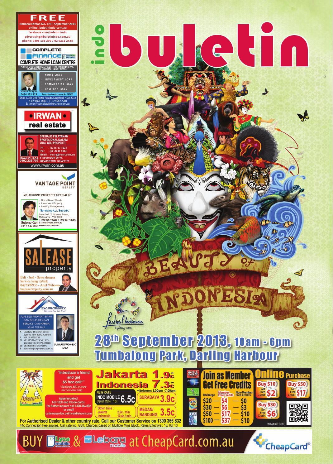 Buletin Indo September 2013 by Buletin Indo - issuu 72e706d5eb