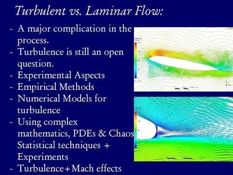 Page 13 of Turbulent vs. Laminar Flow