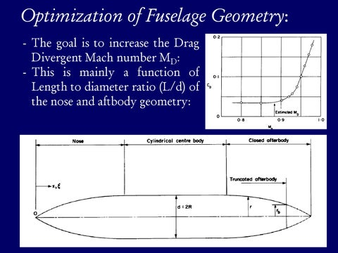 Page 19 of Optimization of Fuselage Geometry: Forebody Proportions vs. Mach Number