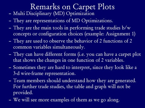 Page 5 of Further Remarks on Carpet Plots