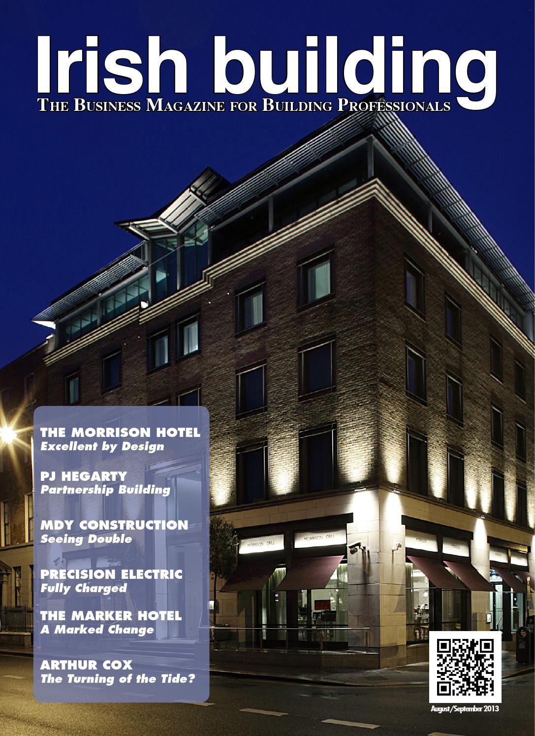 Irish Building Magazine August September 2013 By Irish
