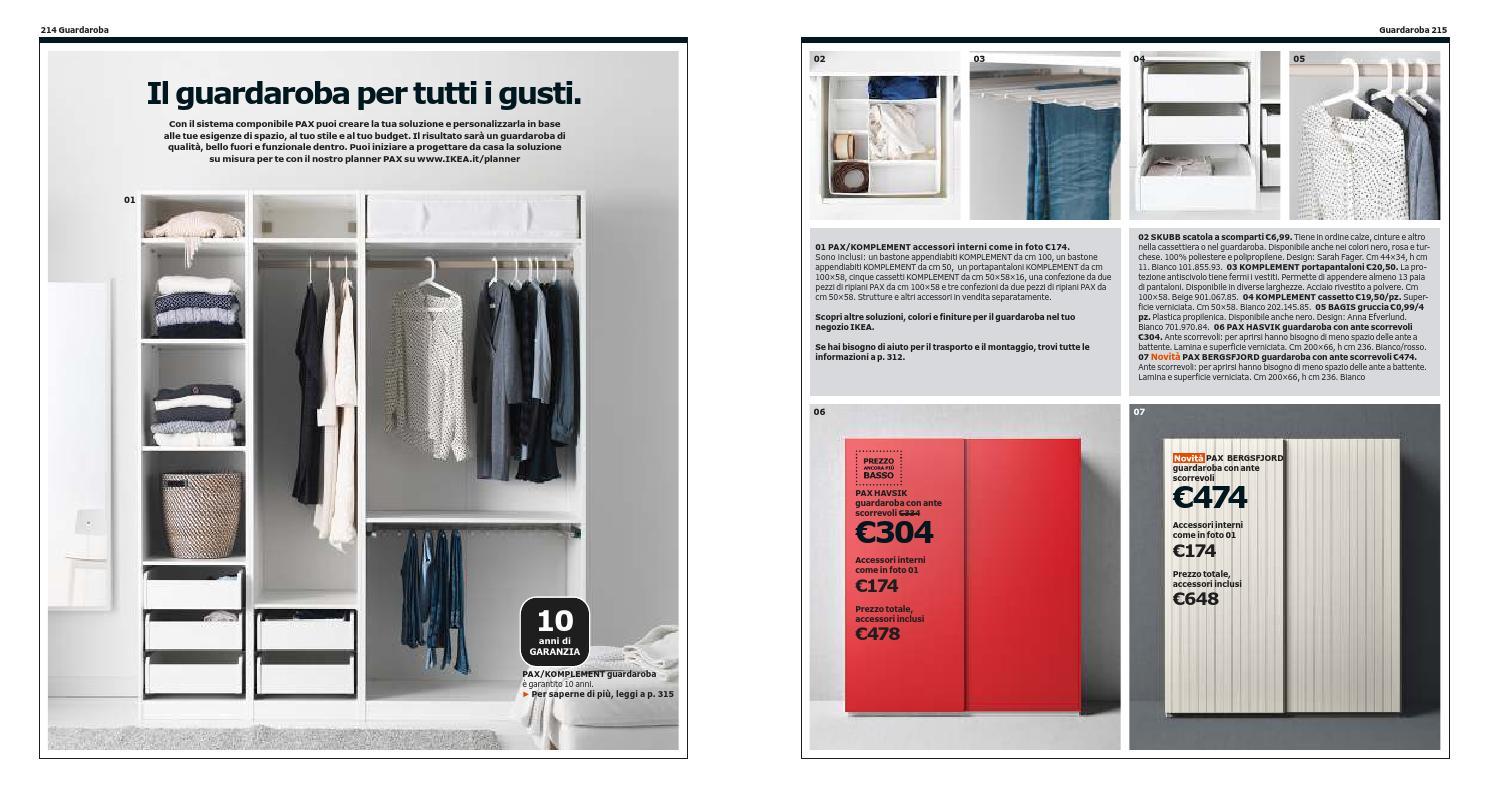 Ikea Guardaroba Pax Komplement Sistema Componibile.Ikea Italia Catalogo 2013 2014 By Catalogopromozioni Com Issuu