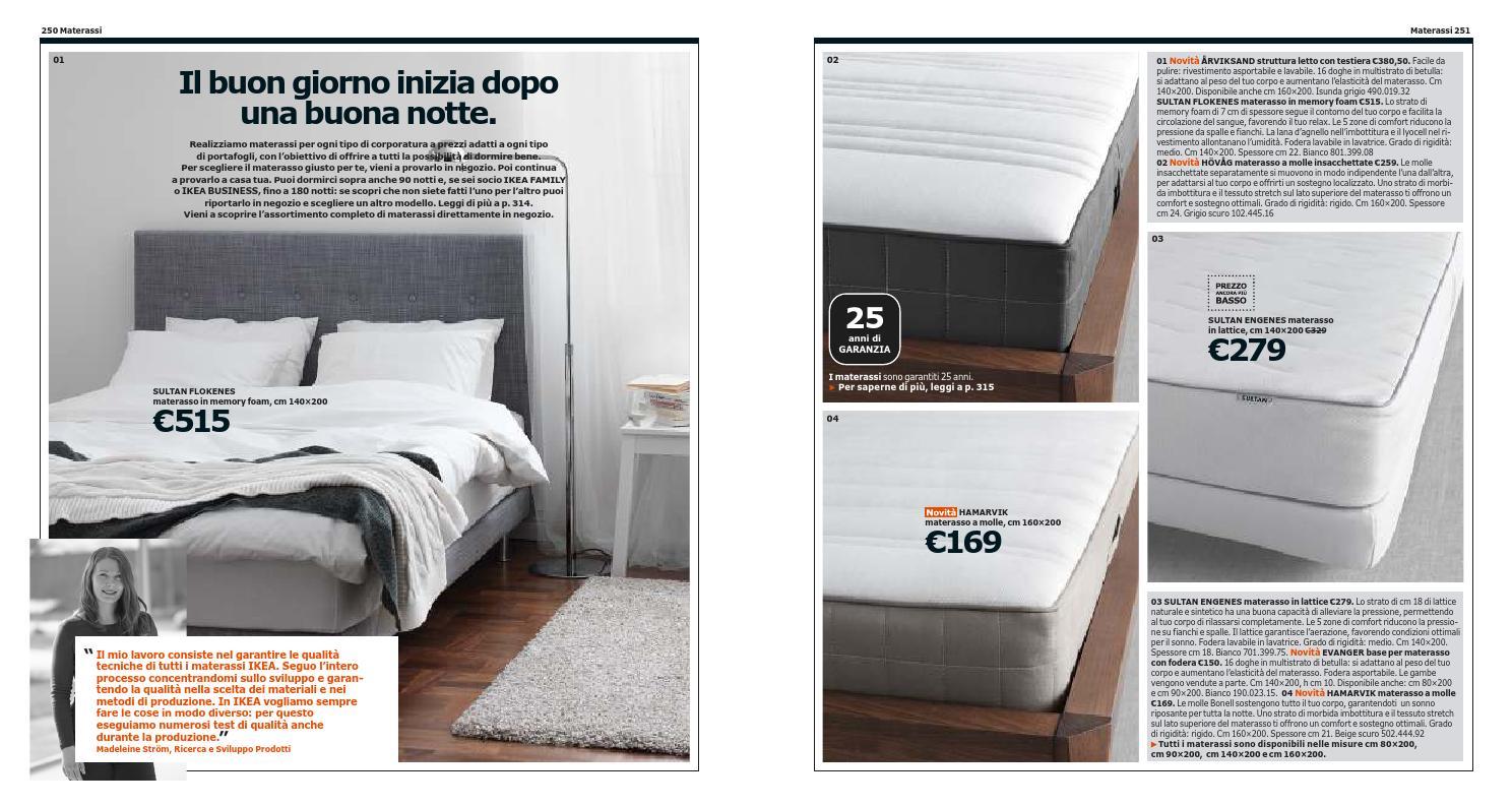 Ikea Materassi A Molle.Ikea Italia Catalogo 2013 2014 By Catalogopromozioni Com Issuu