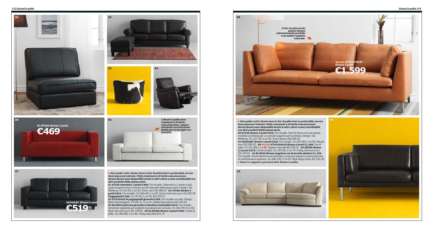 Divano Fior Di Pelle.Ikea Italia Catalogo 2013 2014 By Catalogopromozioni Com Issuu