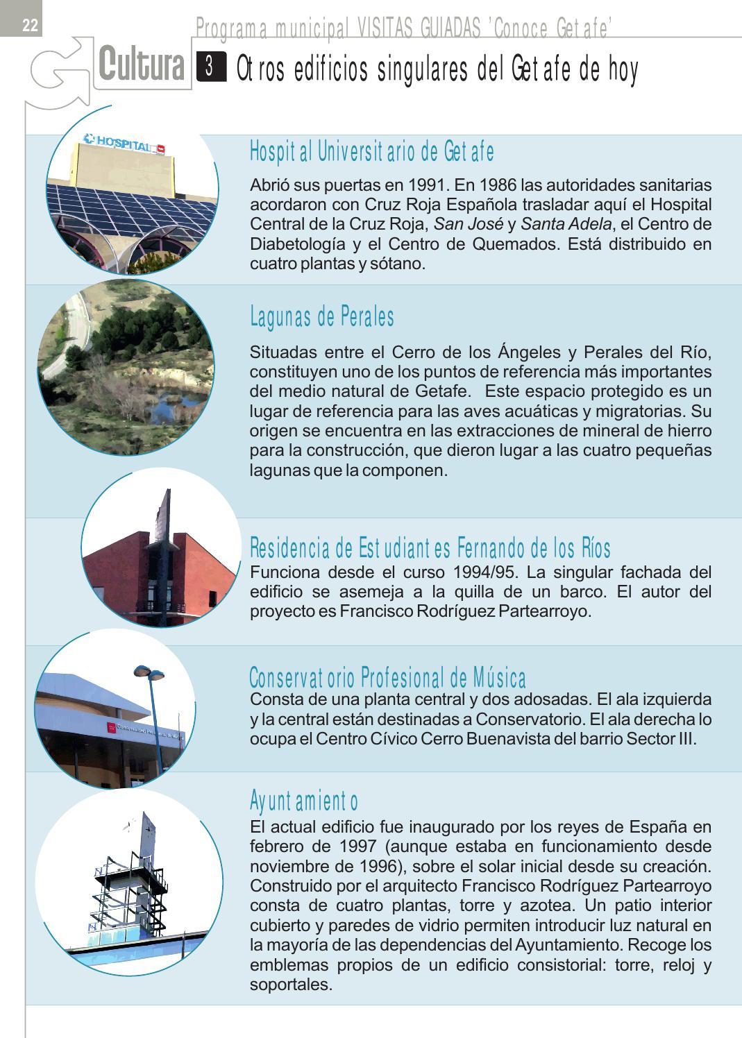 Agenda Cultural Nº 5 Conoce Getafe By Ayuntamiento De Getafe Servicio De Comunicación Issuu