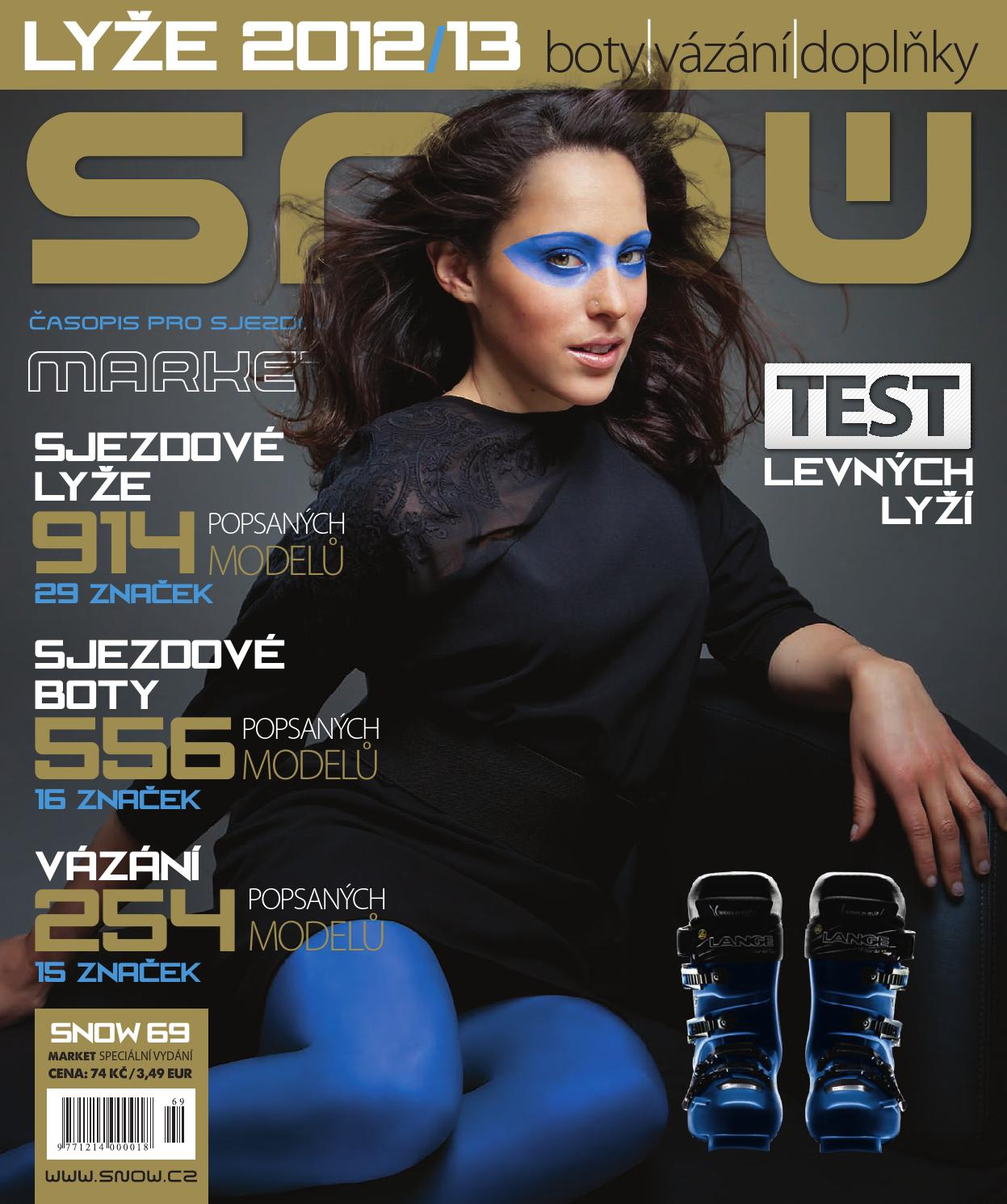 b350f090df8 SNOW 69 Market - Lyže 2012 13 by SNOW CZ s.r.o. - issuu