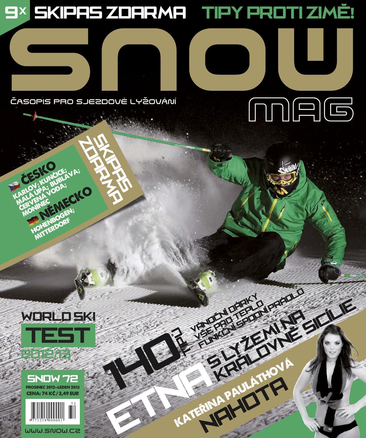 SNOW 72 - prosinec 2012 by SNOW CZ s.r.o. - issuu 294e568767