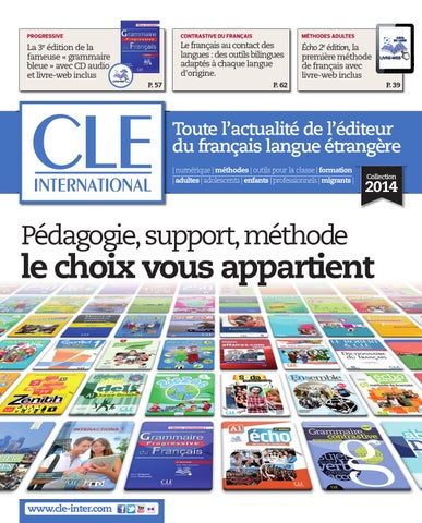 Catalogue cle international 2014 by cle international issuu page 1 fandeluxe Image collections