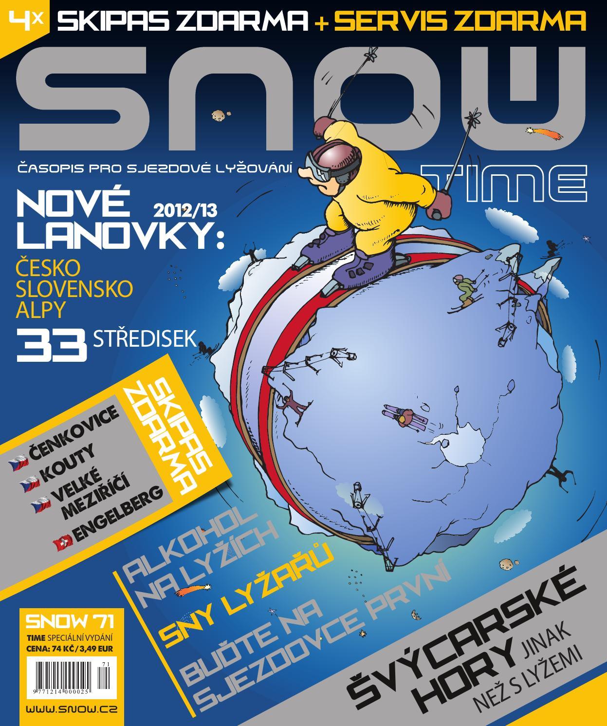 5e4725cd506 Snow 71 Time - speciální vydání 2012 by SNOW CZ s.r.o. - issuu