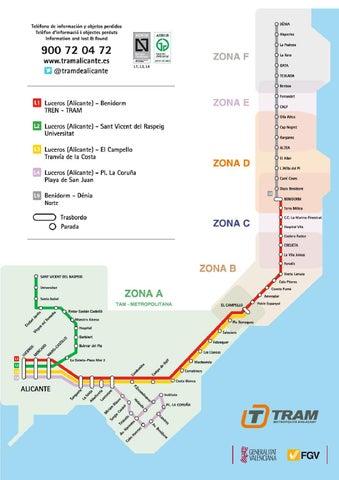 alicante tram linea 3