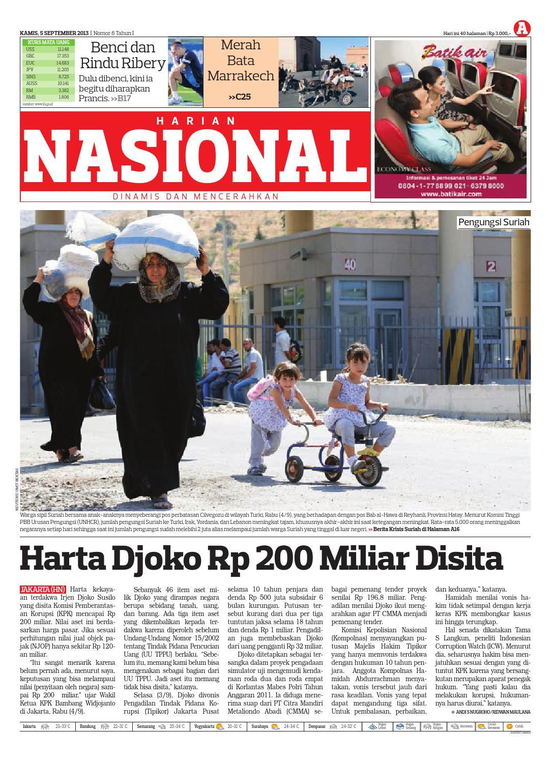 Harian Nasional By Issuu Produk Ukm Bumn Sastra Organdi Biru