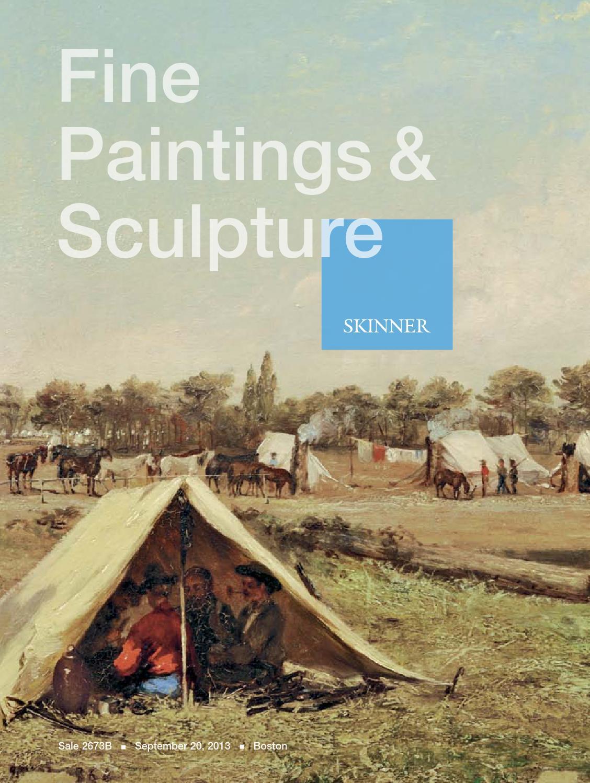 Fine Paintings & Sculpture | Skinner Auction 2673B by Skinner, Inc ...