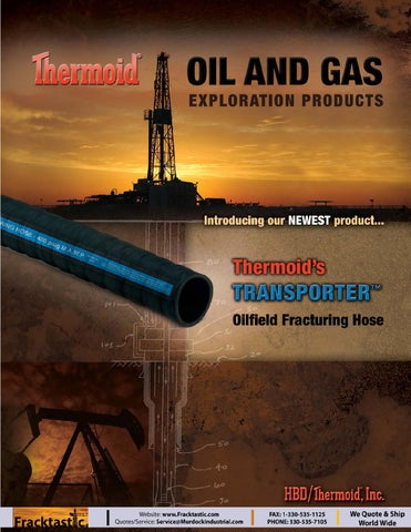 Hbd Thermoid Oil And Gas Exploration Products Brochure Final