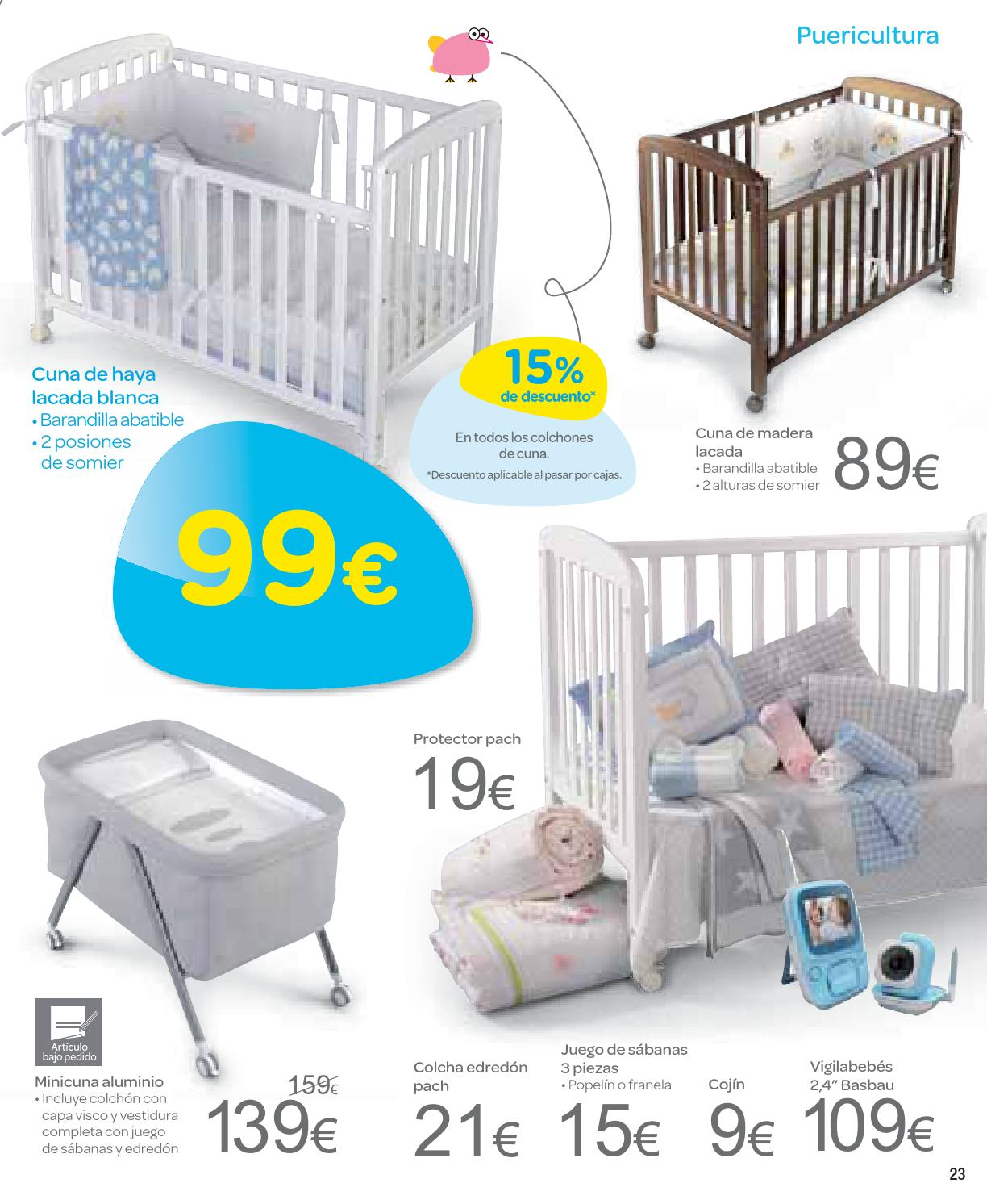 Catalogo carrefour bebe septiembre 2013 by carrefour - Protector cuna carrefour ...