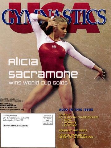 Usa Gymnastics Julyaugust 2005 By Usa Gymnastics Issuu