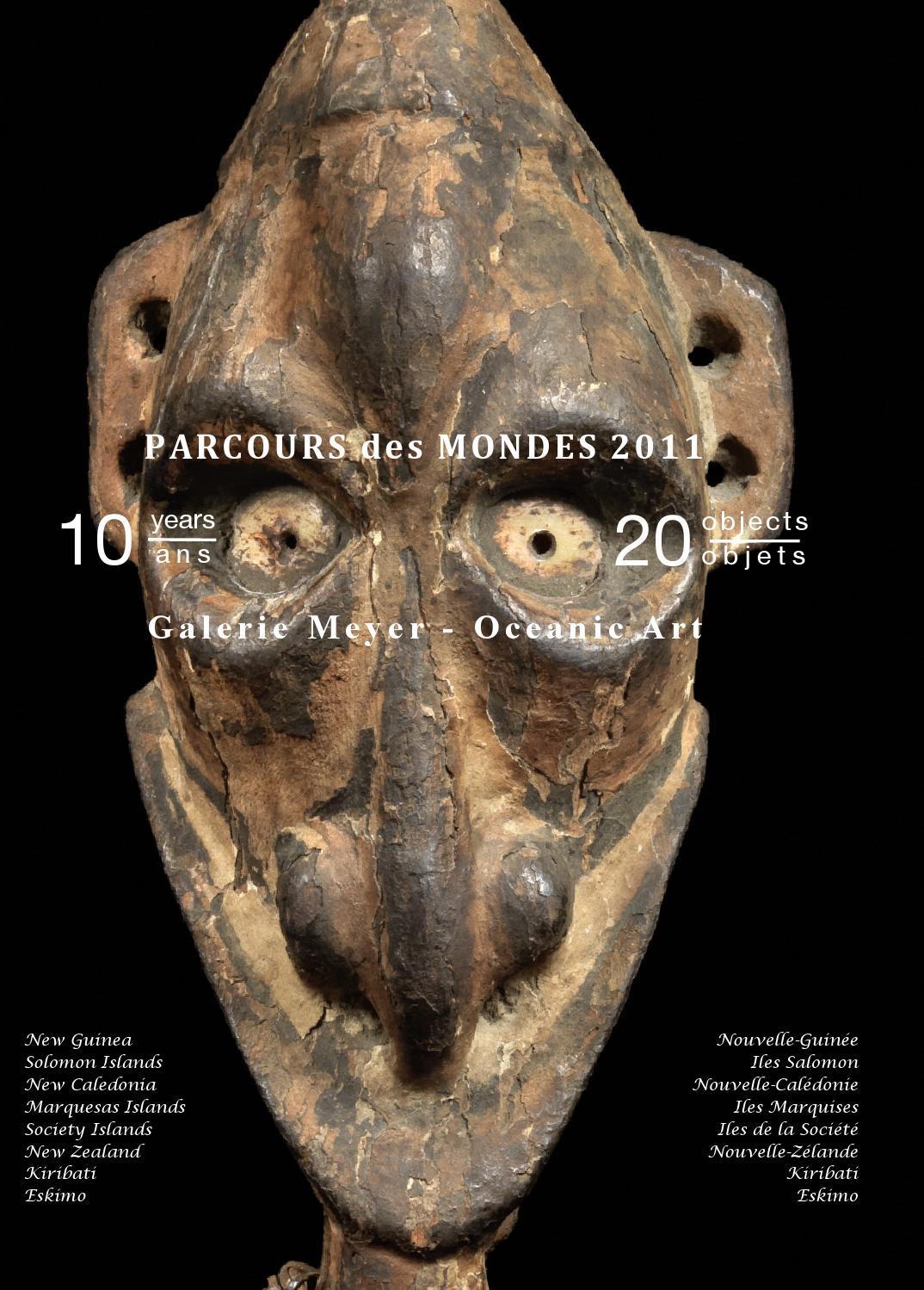 galerie meyer oceanic eskimo art catalogue for parcours des mondes 2011 by galerie meyer. Black Bedroom Furniture Sets. Home Design Ideas